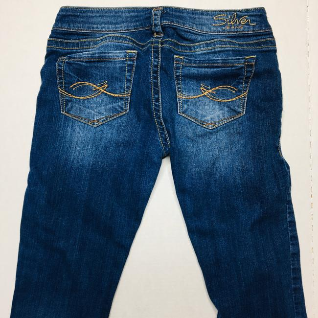 Silver Jeans Co. Boot Cut Jeans-Medium Wash Image 4