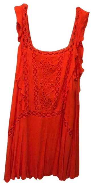 Free People short dress orange on Tradesy Image 0