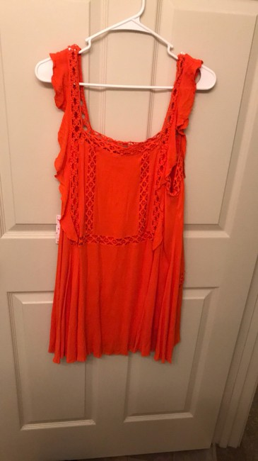 Free People short dress orange on Tradesy Image 1
