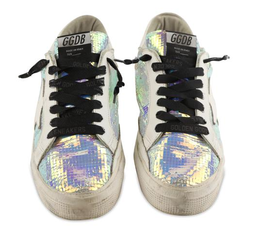 Golden Goose Deluxe Brand Leather White Athletic Image 2