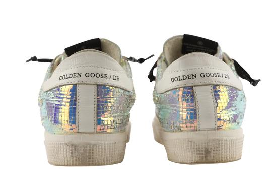 Golden Goose Deluxe Brand Leather White Athletic Image 3