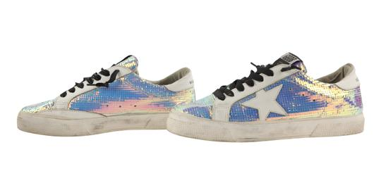 Golden Goose Deluxe Brand Leather White Athletic Image 4