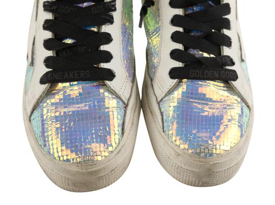 Golden Goose Deluxe Brand Leather White Athletic Image 5