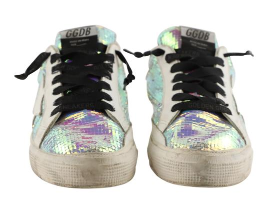 Golden Goose Deluxe Brand Leather White Athletic Image 6