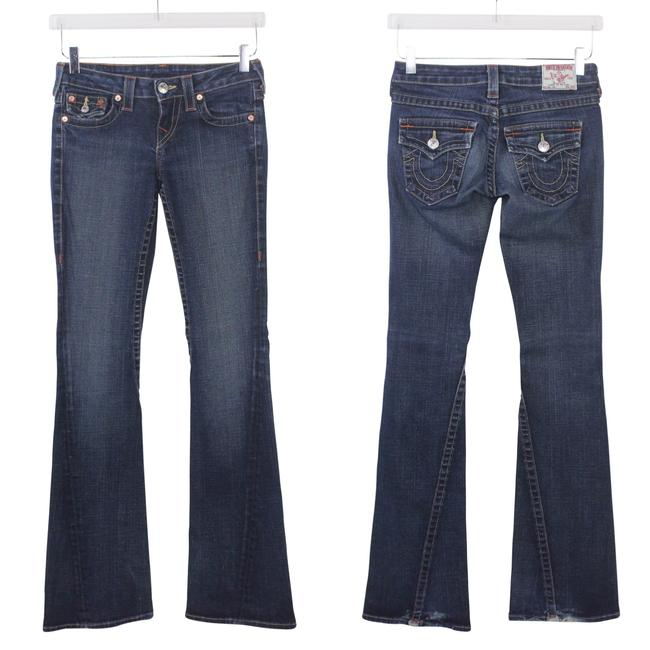 True Religion Premium Denim Joey Cut Boho Flare Leg Jeans-Medium Wash Image 1