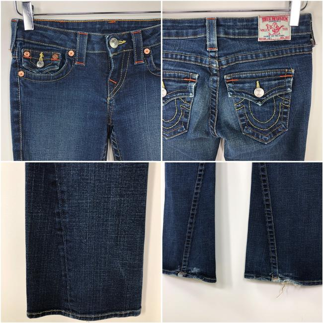 True Religion Premium Denim Joey Cut Boho Flare Leg Jeans-Medium Wash Image 5