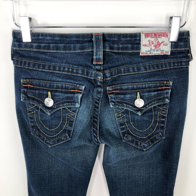 True Religion Premium Denim Joey Cut Boho Flare Leg Jeans-Medium Wash Image 7