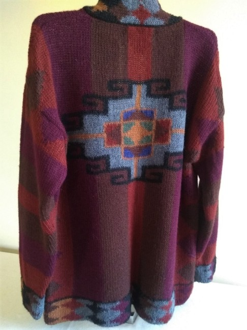 Other Dry Cleaning Handwash Dry Flat Made In Peru Baby Alpaca Sweater Image 1