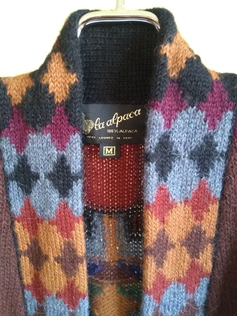 Other Dry Cleaning Handwash Dry Flat Made In Peru Baby Alpaca Sweater Image 2