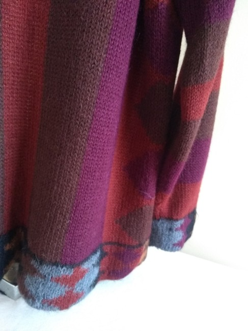 Other Dry Cleaning Handwash Dry Flat Made In Peru Baby Alpaca Sweater Image 4