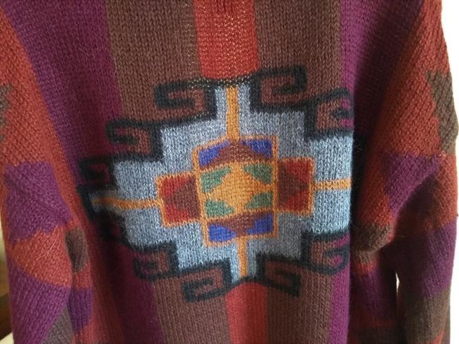 Other Dry Cleaning Handwash Dry Flat Made In Peru Baby Alpaca Sweater Image 6