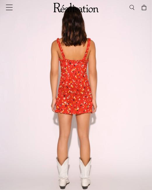 Réalisation Par short dress Red on Tradesy Image 2