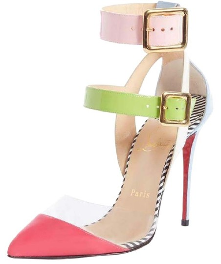Preload https://img-static.tradesy.com/item/26250360/christian-louboutin-pink-blue-green-white-multimiss-100-pvc-patent-ankle-strap-buckle-pumps-heels-sa-0-1-540-540.jpg