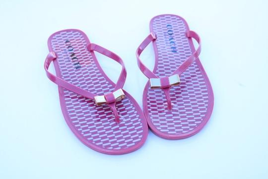 Coach pink Sandals Image 3