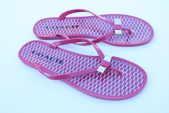 Coach pink Sandals Image 7