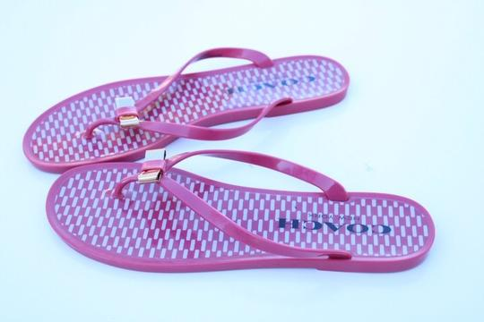 Coach pink Sandals Image 8