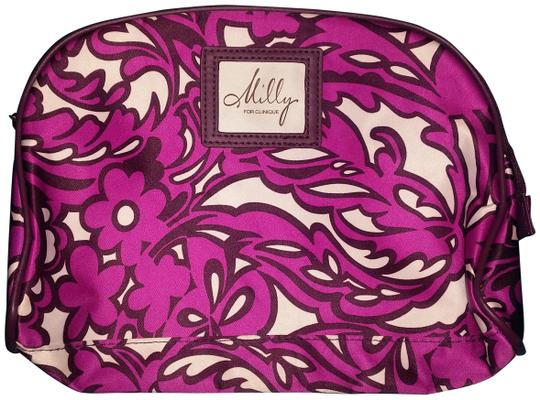 Preload https://img-static.tradesy.com/item/26250387/milly-purple-print-for-clinique-cosmetic-bag-0-1-540-540.jpg