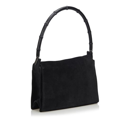 Preload https://img-static.tradesy.com/item/26250390/gucci-suede-bamboo-italy-black-leather-shoulder-bag-0-0-540-540.jpg