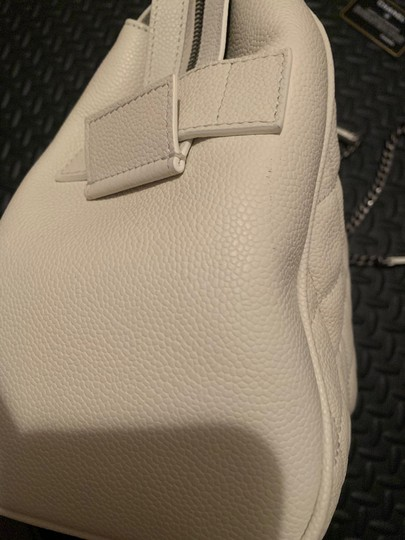 Chanel Satchel in white Image 7