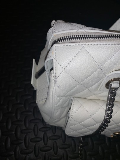Chanel Satchel in white Image 9