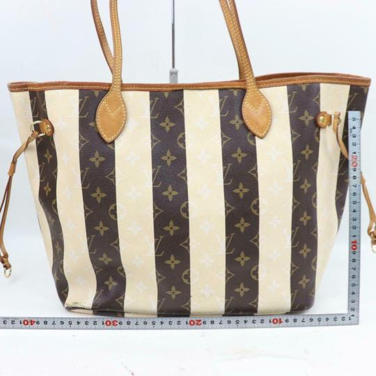 Louis Vuitton Neverfill Neverfell Neverfall Neverfold Never Full Tote in Brown Image 5