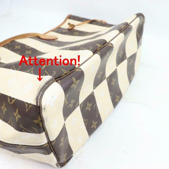 Louis Vuitton Neverfill Neverfell Neverfall Neverfold Never Full Tote in Brown Image 6