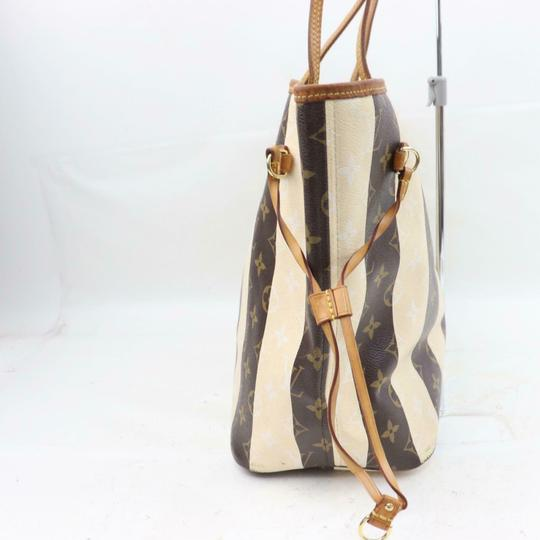 Louis Vuitton Neverfill Neverfell Neverfall Neverfold Never Full Tote in Brown Image 7
