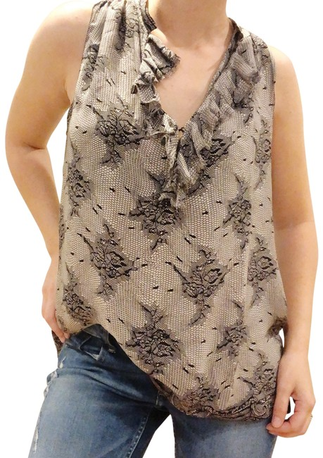 Preload https://img-static.tradesy.com/item/26250507/l-agence-nude-l-print-v-neck-sleeveless-blouse-size-8-m-0-1-650-650.jpg