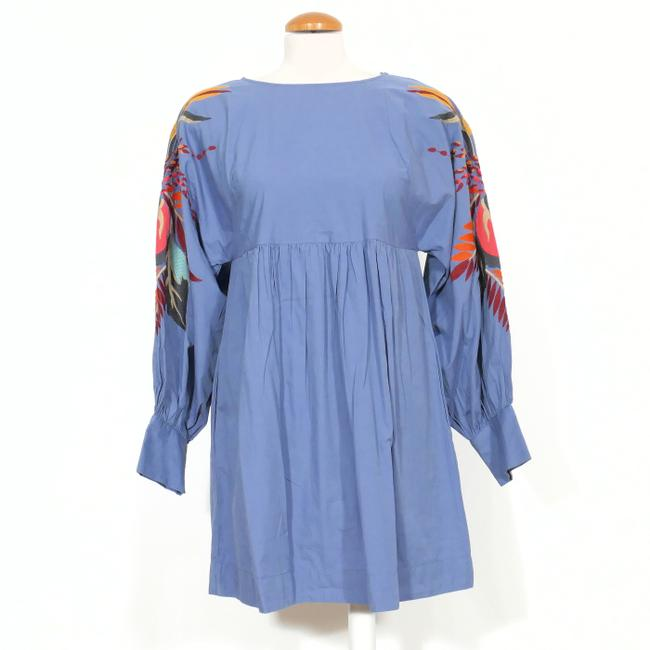 Preload https://img-static.tradesy.com/item/26250541/free-people-blue-l-mini-obsessions-embroidered-floral-cotton-short-casual-dress-size-12-l-0-1-650-650.jpg