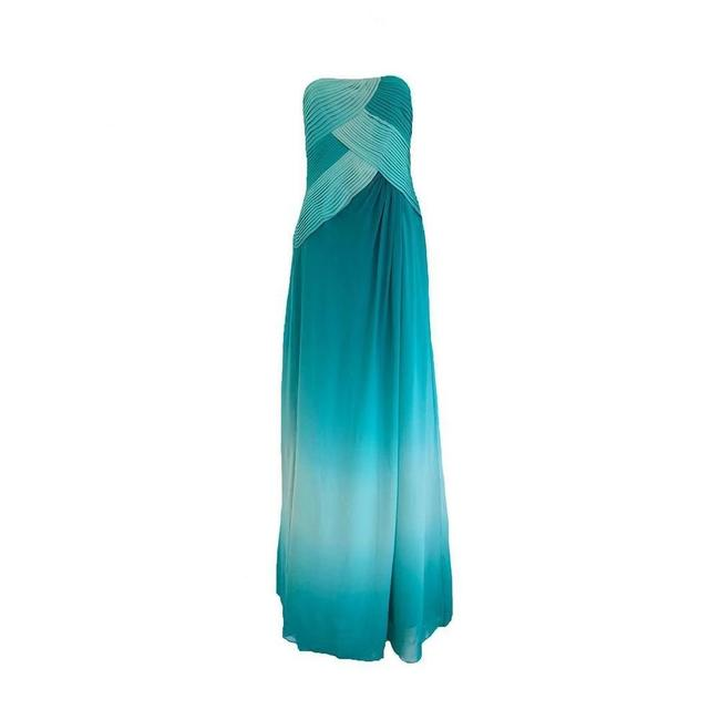 Item - Teal Green Everglade Long Formal Dress Size 6 (S)
