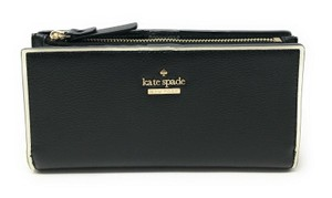 Kate Spade New York Kate Spade Braylon Patterson Drive Painted Edge Leather Wallet