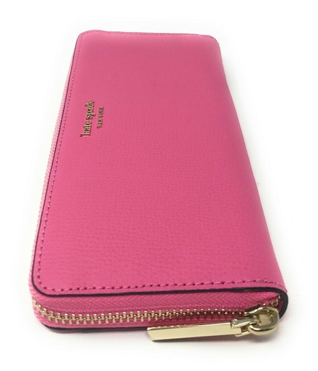 Kate Spade New York Kate Spade Sylvia Slim Continental Leather Wallet Clutch Credit Card Image 2