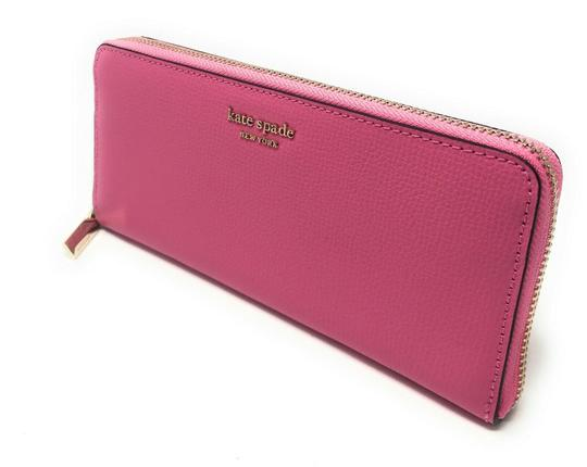 Kate Spade New York Kate Spade Sylvia Slim Continental Leather Wallet Clutch Credit Card Image 3