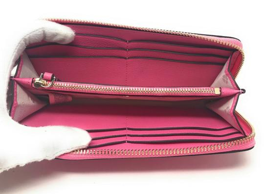 Kate Spade New York Kate Spade Sylvia Slim Continental Leather Wallet Clutch Credit Card Image 5