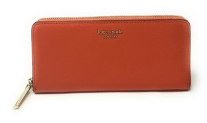 Kate Spade New York Kate Spade Sylvia Slim Continental Leather Wallet Clutch Credit Card