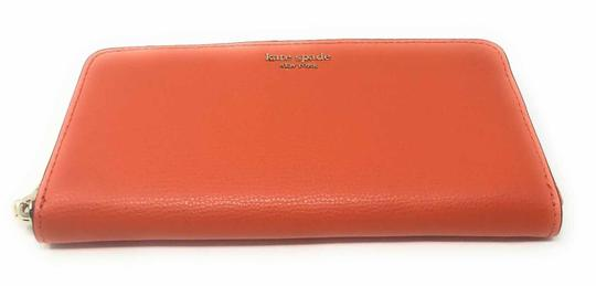 Kate Spade New York Kate Spade Sylvia Slim Continental Leather Wallet Clutch Credit Card Image 4
