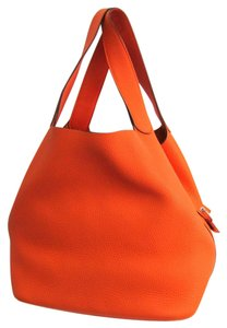 Hermes Satchel in Orange