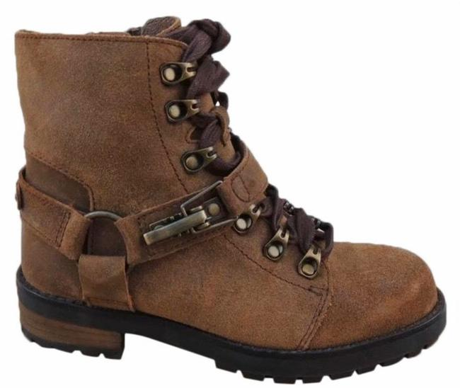 Item - Brown Fritizi Lace Up Classic Women's Boots/Booties Size US 6 Regular (M, B)