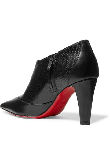 Christian Louboutin Loubs Leather black Boots Image 2