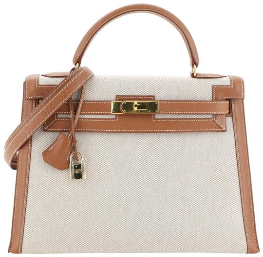 Preload https://img-static.tradesy.com/item/26251797/hermes-kelly-handbag-ecru-toile-and-gold-courchevel-with-gold-hardware-32-neutral-satchel-0-1-540-540.jpg
