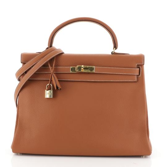 Preload https://img-static.tradesy.com/item/26251802/hermes-kelly-handbag-gold-clemence-with-gold-hardware-35-brown-leather-satchel-0-0-540-540.jpg