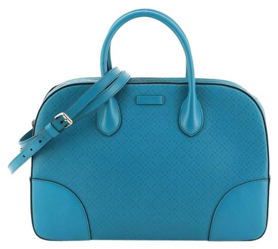 Preload https://img-static.tradesy.com/item/26251808/gucci-top-handle-bag-bright-diamante-medium-blue-leather-satchel-0-1-540-540.jpg