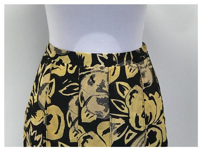 Who What Wear x Target Skirt Black/Yellow Image 2