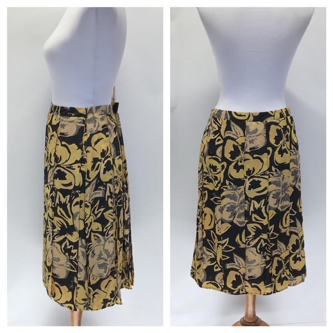 Who What Wear x Target Skirt Black/Yellow Image 4