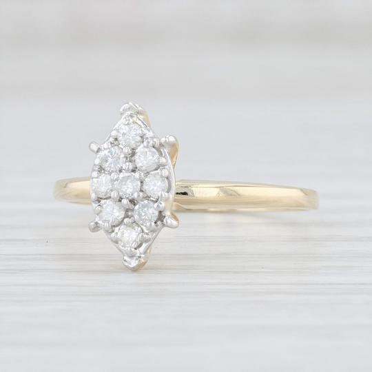 Preload https://img-static.tradesy.com/item/26251873/yellow-gold-026-diamond-cluster-14k-size-8-marquise-engagement-ring-0-0-540-540.jpg