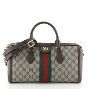 Gucci Canvas Satchel in Brown