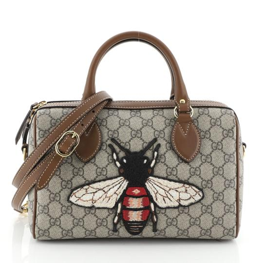 Preload https://img-static.tradesy.com/item/26251908/gucci-boston-bag-convertible-embroidered-gg-coated-small-brown-canvas-satchel-0-0-540-540.jpg