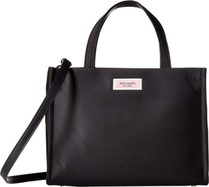 Kate Spade Medium Crossbody Chic 90's Satchel in Black