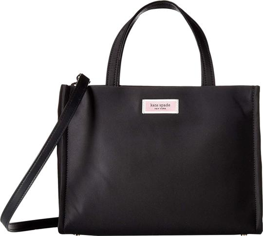 Preload https://img-static.tradesy.com/item/26251932/kate-spade-sam-medium-black-nylon-satchel-0-1-540-540.jpg
