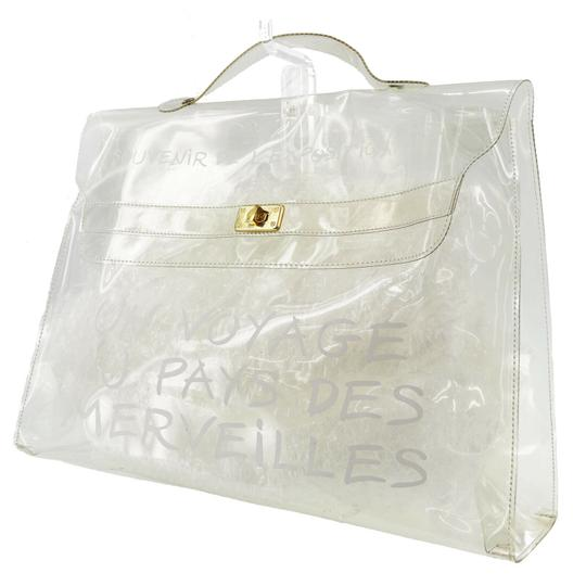 Preload https://img-static.tradesy.com/item/26251945/hermes-kelly-l-souvenir-de-l-exposition-transparent-white-vinyl-tote-0-0-540-540.jpg